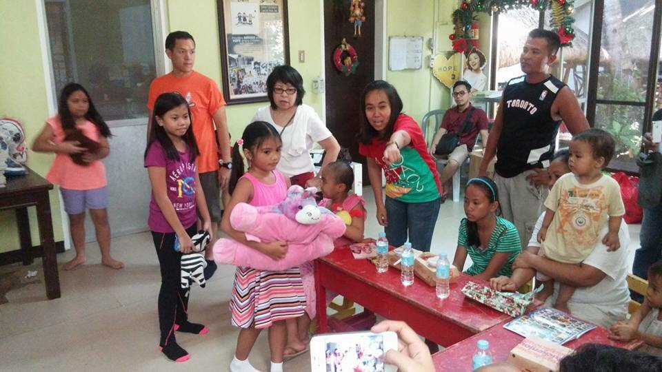 Christmas Party Joy for 100 Children with Cancer