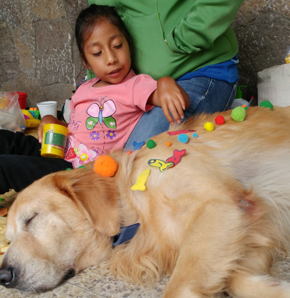 Animal Assisted Therapy for Children in Guatemala