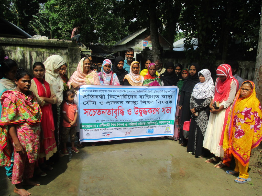 Support for Changes livelihood of Disabled Women