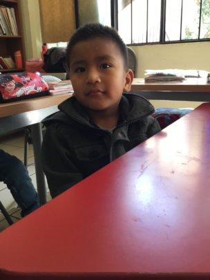 Jacobo in class