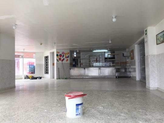 Painting CRAN Foundation Caferia