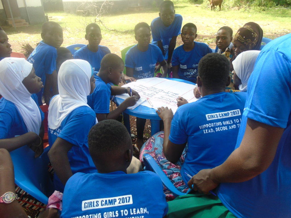 Promoting Save Spaces for Adolescent Girls