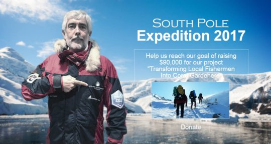 South Pole expedition that supported our project.