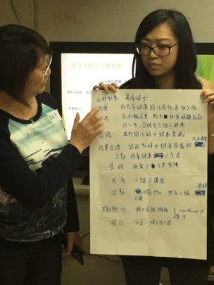 Presentation during core training