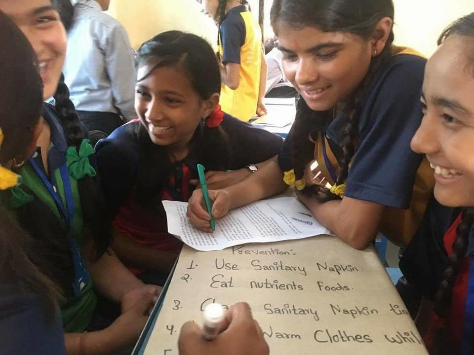 Menstrual Hygiene Awareness to 5000 Nepali Girls