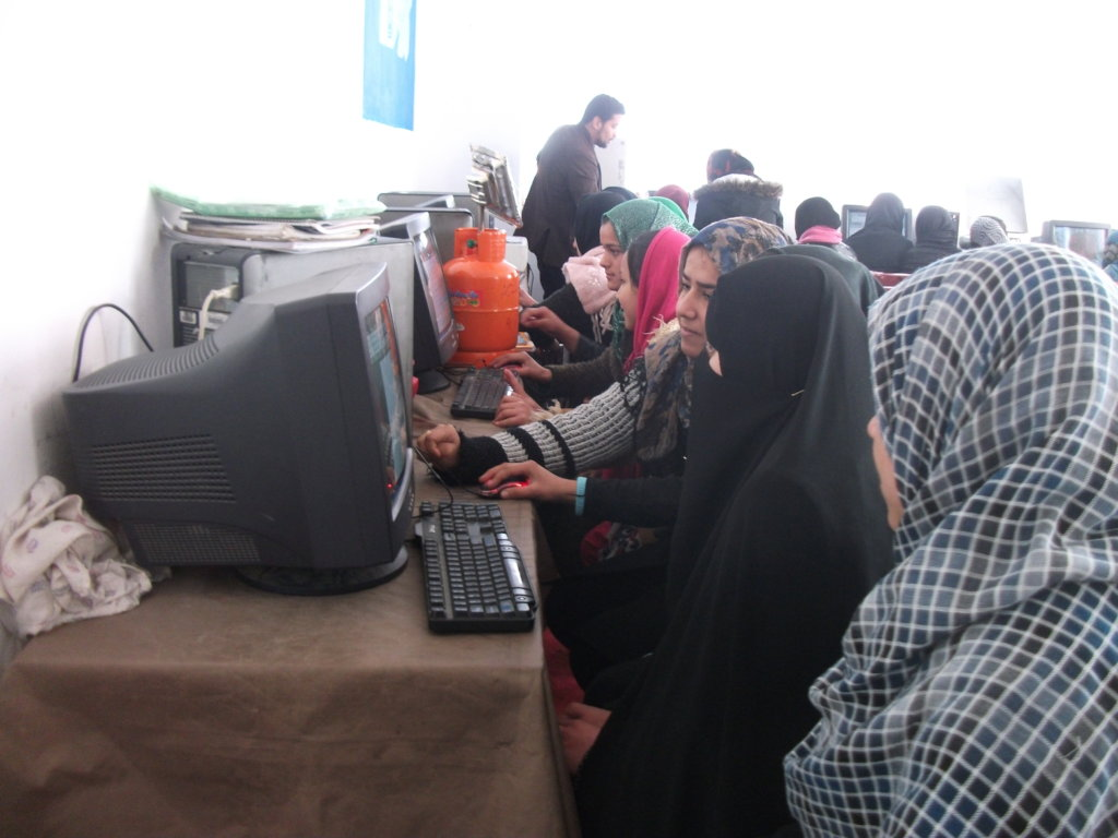 Provide One Computer to an Afghan Learning Center