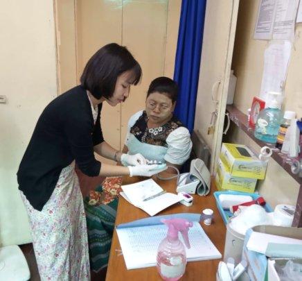 Internship at a hospital in Yangon