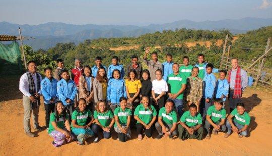 Health & Hope staff many of whom are FEP graduates