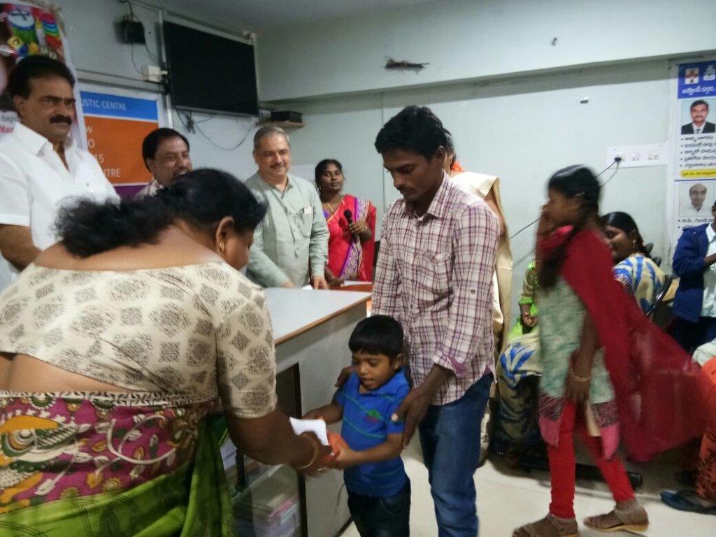 Sponsor Medicine for Thalassemia affected children