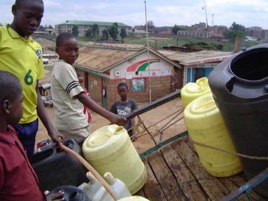 Safe, Clean, Affordable Water for a Nairobi Slum