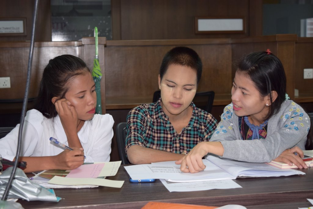 Her Time to Lead: Women's Empowerment in Myanmar