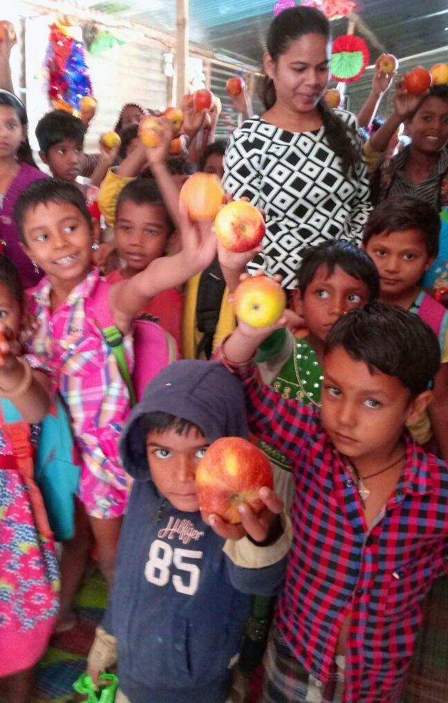 Gift a meal for 70 children at a school in India