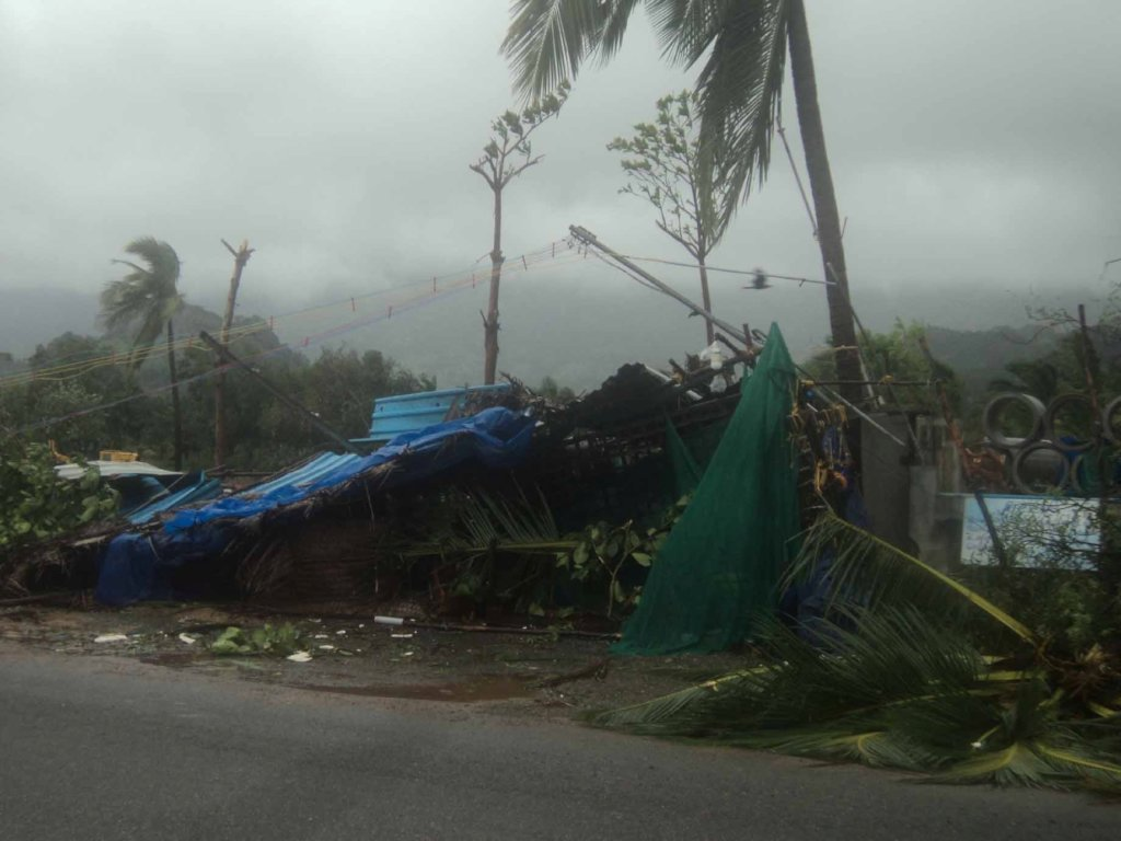 Relief to 660 families affected by Ockhi Cyclone