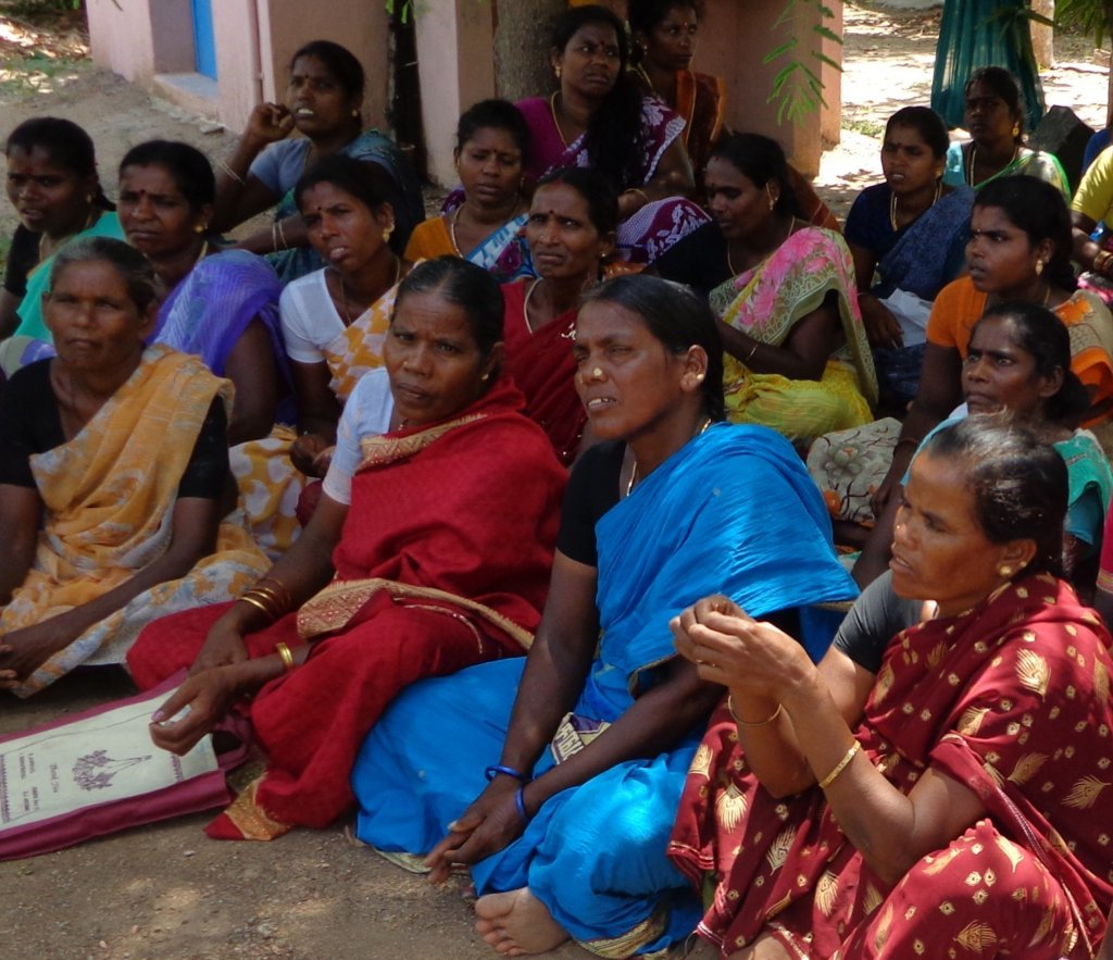 Seed Money For Poor Dalit Widows & Women With HIV