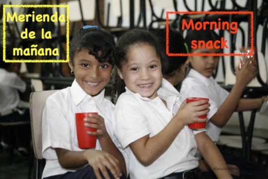 Morning Snack / Merienda de la manana
