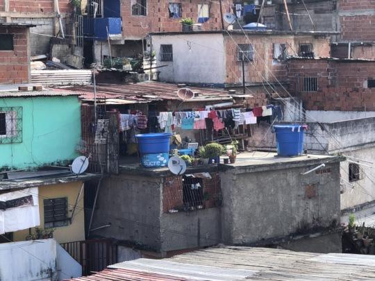 Student's home & School location: slum 24 de Marzo