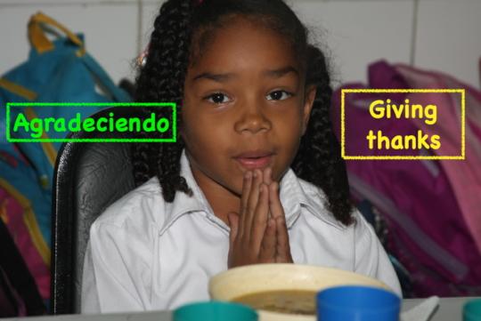 Giving thanks / Agradeciendo