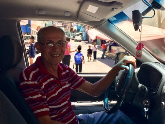 Teodora's husband: driver of the Foundation