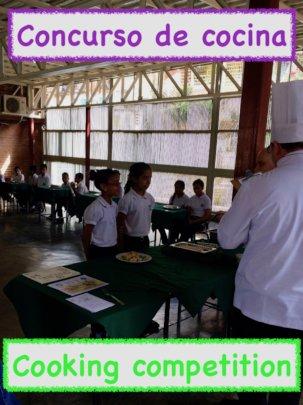 Cooking competition / Concurso de cocina