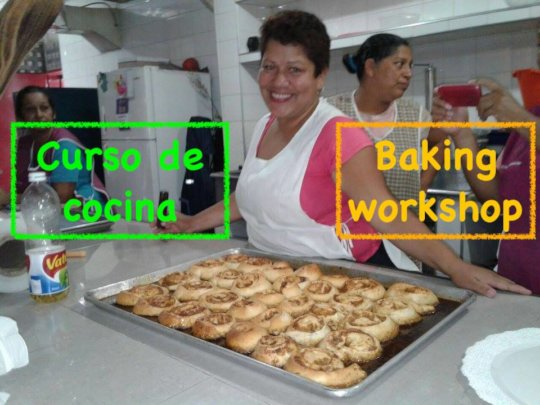 Baking workshops / Curso de cocina