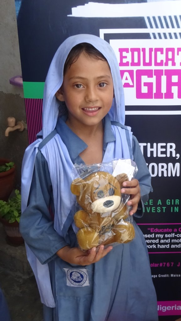 $15 to give an orphan a Christmas gift in Pakistan
