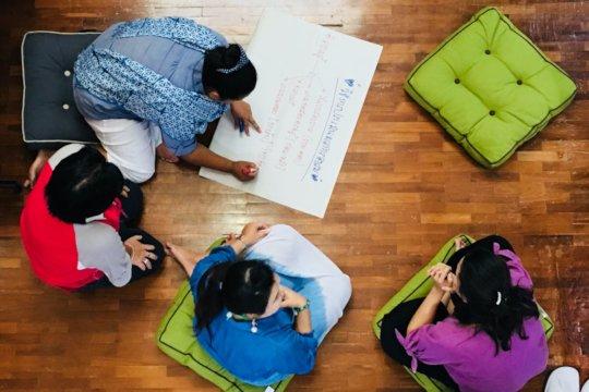 A training workshop