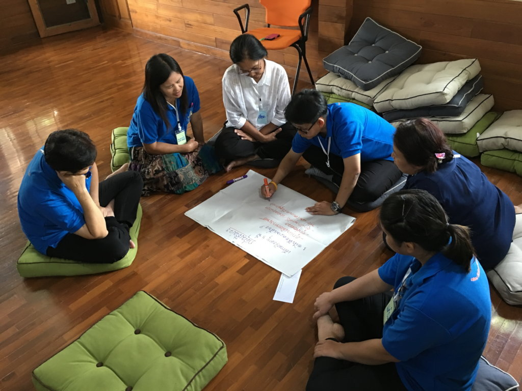 Orphans into foster families in Thailand