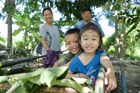 Orphans into families in Thailand