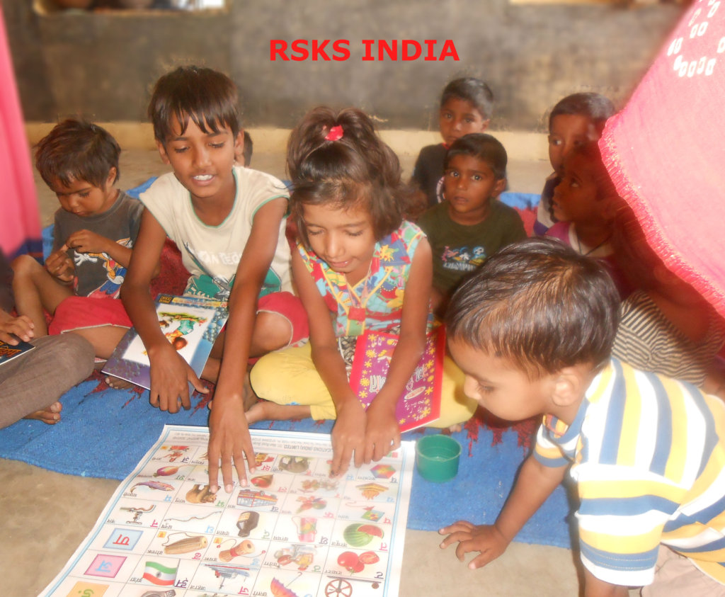 Give Education Materials To 100 School Child