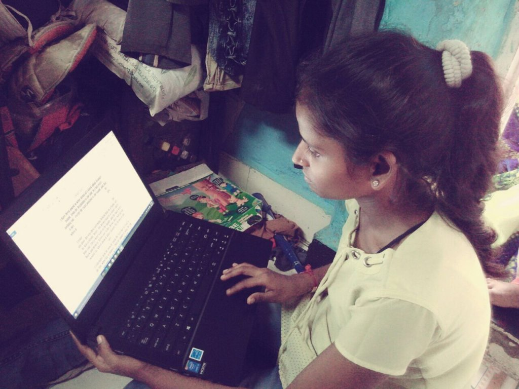 Provide Computer Access to Young Women in India