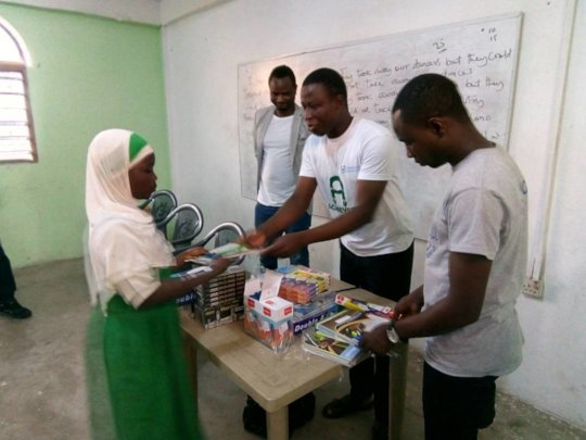 Provide School Suppliers to Girls in Need