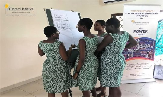 Leadership Empowerment for 200  School Girls-Ghana