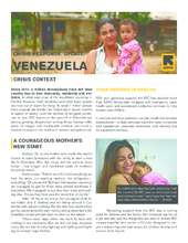 Learn how the IRC is responding in Venezuela (PDF)
