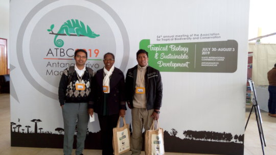 SEPALI team in Tana at the ATBC conference