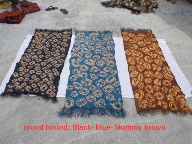 Round Bound Raffia Panels