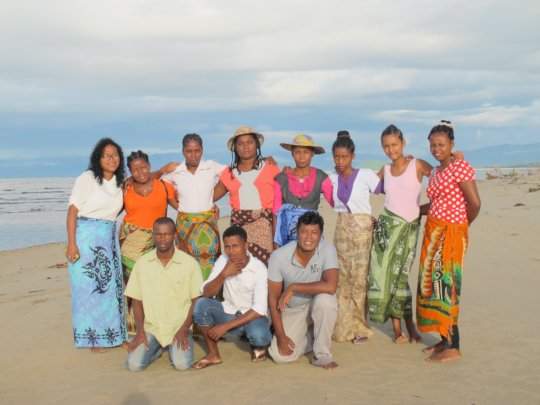 SEPALI Team on the Beach, Madagascar