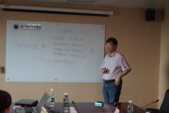 IMCRA Collaboration with Chinese Affiliate