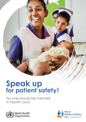 WHO Patient SAfety Day Poster
