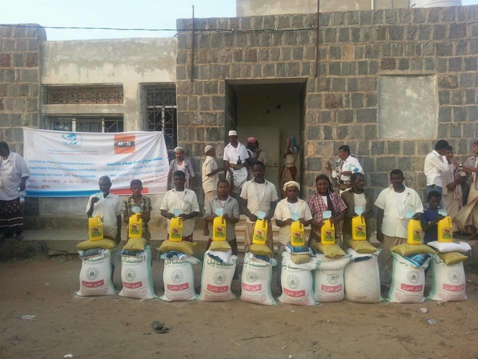Providing basic Livelihood needs (Food ,NFIs kit)
