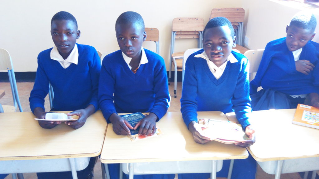 COMPUTERS FOR DEAF STUDENTS.