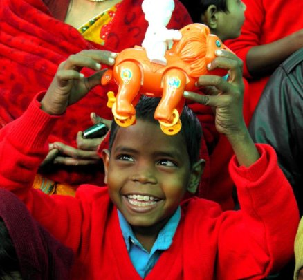 Give smiles and Joy- the first toy for a child!