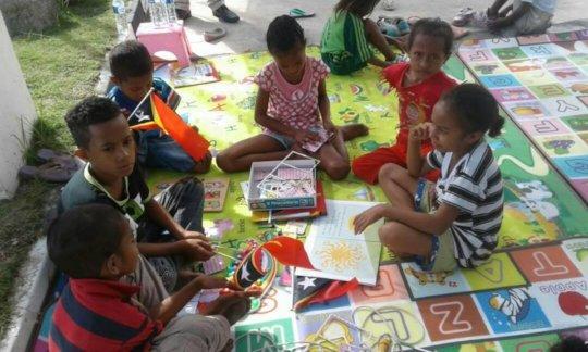 Build Library for 500+ children in Timor Leste