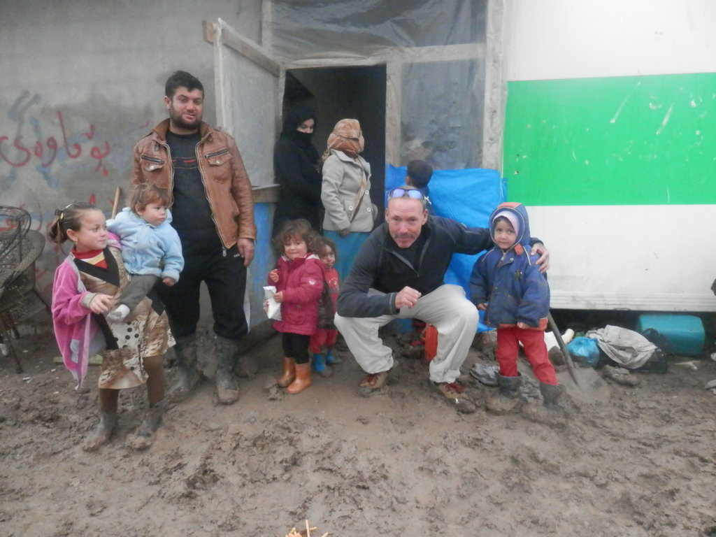Refugees seeking to restore their lives