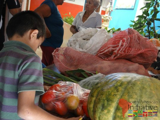 Healthy food for starving orphaned children