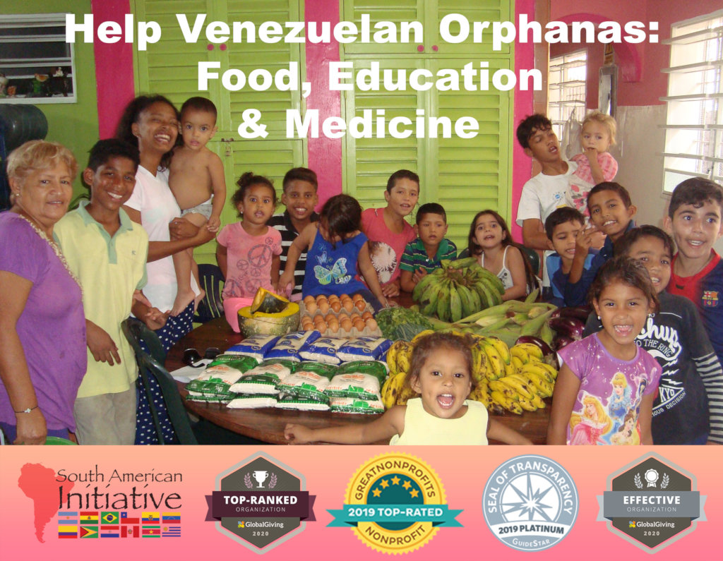 VENEZUELA|Provide Orphans 1,500 Meals Weekly