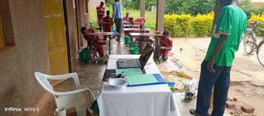 Technician imparts skills to girls