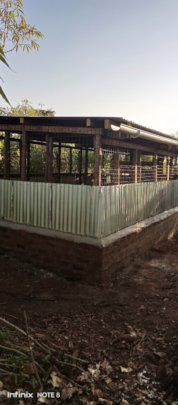 Construction of poultry unit completed