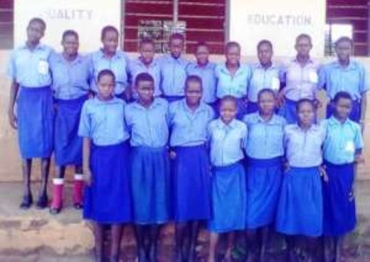 17 Girls retained at school; 2017