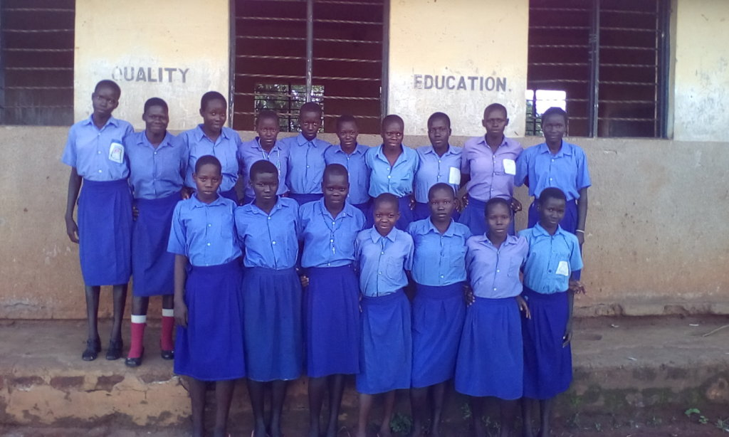 The 17 Post Wat Girls of Angiic PS