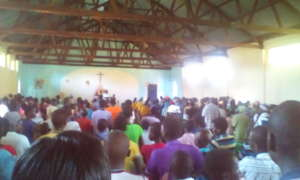 Launch of Transformation week at Angic PS